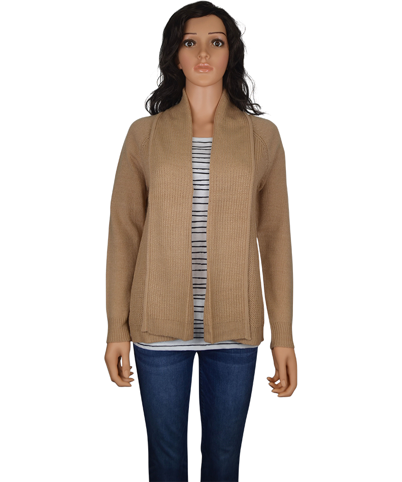 Ladies Open Knit Cardigan