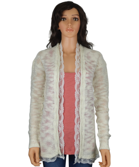 Ladies Open Knit Cardigan - Diverse Style Ltd