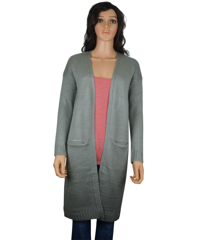 Our Open Drape Cardigan is a stylish sweater that works great in a chilly office setting. The fabric blend is made to keep its shape and color after numerous wash and wear cycles. Plus, it will always look brand new thanks to the high-twist yarn that resists pilling. 60% cotton/40% rayon modal.